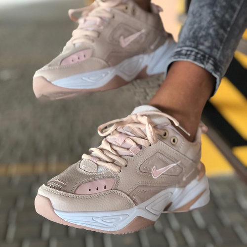 Nike M2K Tekno particle beige/pink