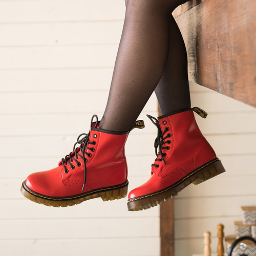 Dr. Martens 1460 Smooth red thermo