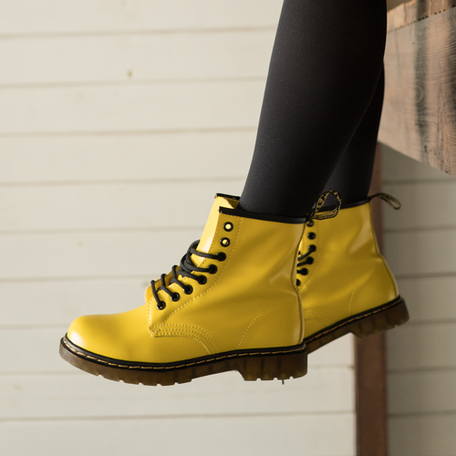 Dr.Martens 1460 smooth yellow thermo