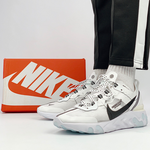 NIke Undercover React Element 87 white