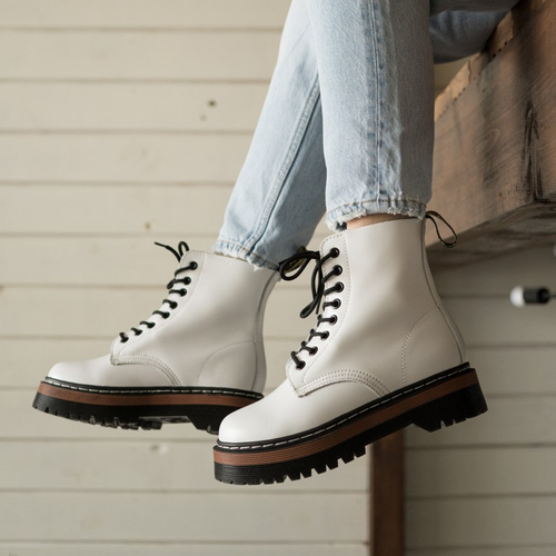 Dr.Martens Jadon white thermo