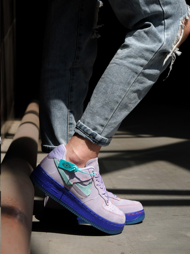 Кроссовки женские Nike Air Force 1 LXX purple agate premium