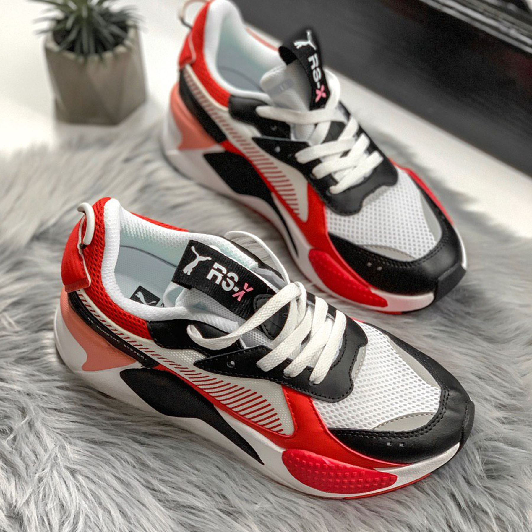 Puma RS-X Reinvention Black/Red Blast