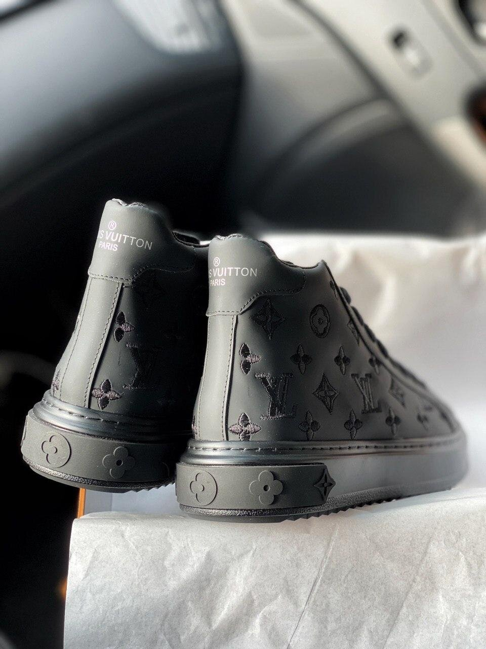 Кроссовки Louis Vuitton Sneakers High Black