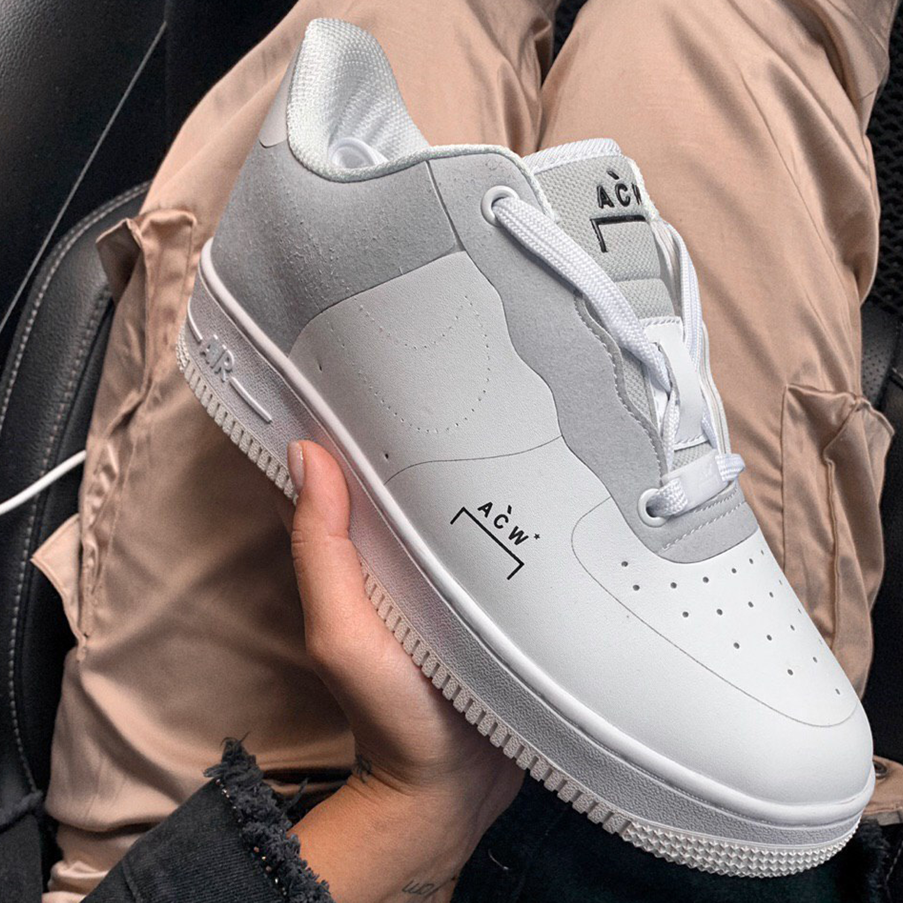 Кроссовки Nike Air Force 1 Low A Cold Wall White