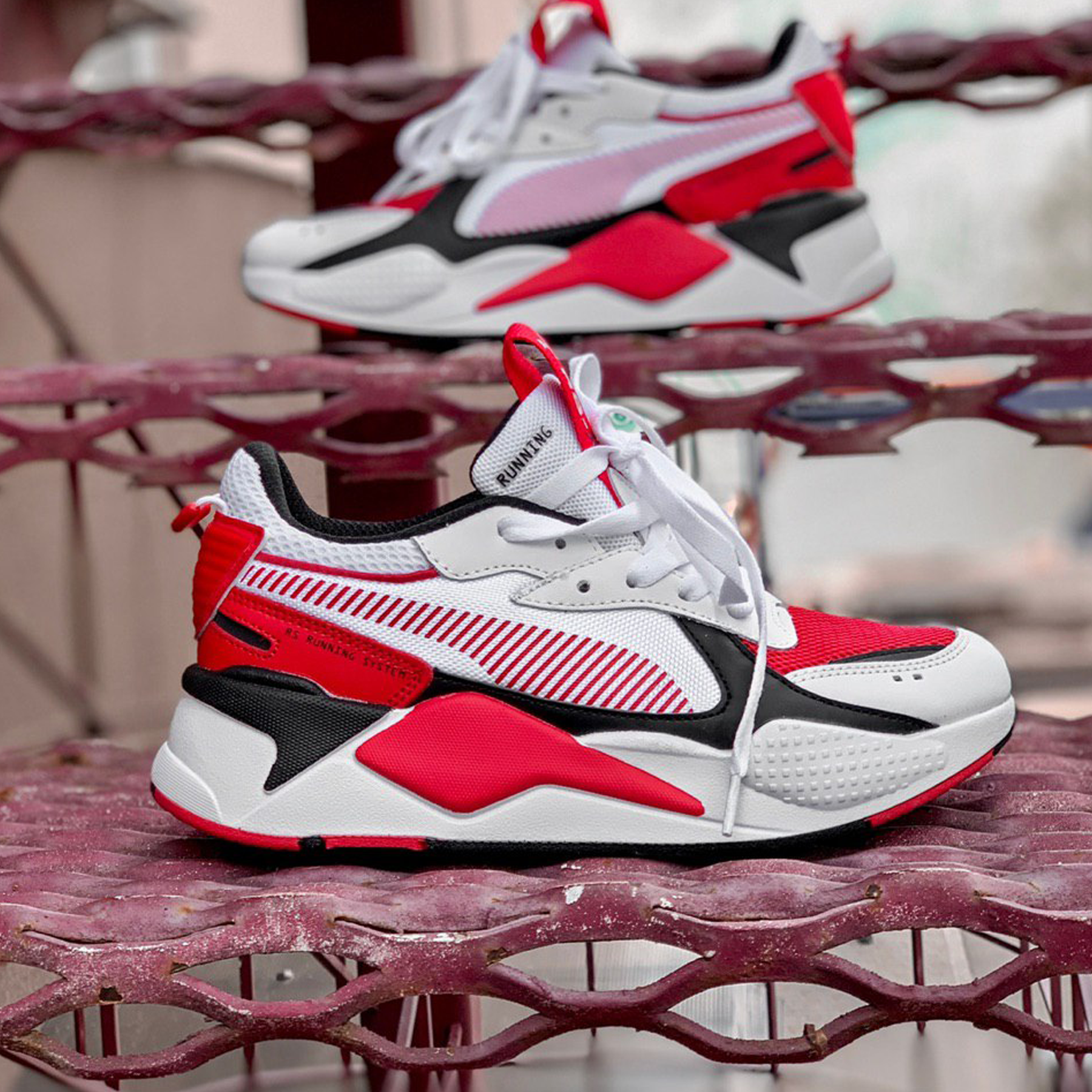 Puma RS-X Reinvention White/Red Blast